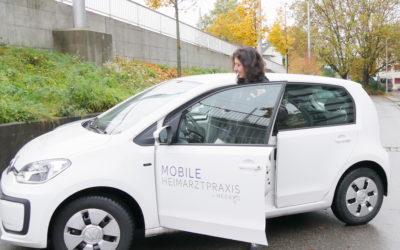 Mobile Heimarztpraxen